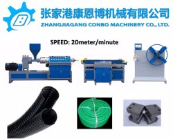 Plastic Extruder/Plastic Machine/PVC PE Single Wall Corrugated Pipe Production Line