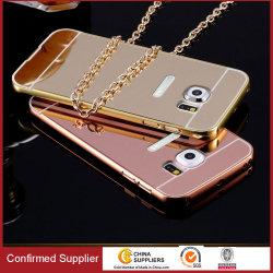 9874fd232 Aluminum Metal Bumper Frame Mirror Mobile Phone Case for Samsungs8