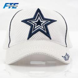 0b2a24630aa Custom Nylon Breathable Full Mesh Baseball Cap with Embroidery Logo