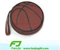 2011 Durable Leather Sports Basketball CD Cases (FJCDB0026)