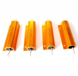 Rx24 Gold Minum Aluhoused Wire-Wound Power Resistor