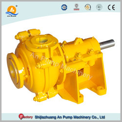 Rubber Lined Mining Sand Sump Horizontal Centrifugal Slurry Pump