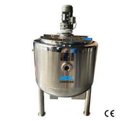 Fruit Slurry Pre Stainless Steel Mixing Tank for Fruit Jam