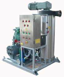 Concentration 20% to 50% Slurry Ice Machine for Seafood Chilling