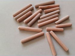 Grooved Wood Dowel Pin and Wood Nail 8X60mm