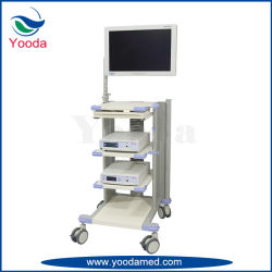 Hospital Bedside Charging Cart with Battery