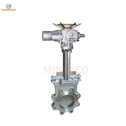 China Big Size Wafer Type Hydraulic Slurry Water Knife Gate Valve