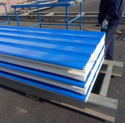 Wholesale Light Weight Color Steel 25mm EPS Sandwich Roof Panel