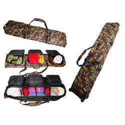 Wholesale Heavy Duty Polyester Travel Sport Snowboard Bag with Removable Shoulder Strap