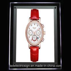 LED Wrist Watch Crystal Light Box