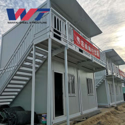 China Galvanized Modular Houses Used in Factory or Construction Site