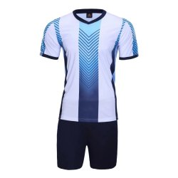 95045b9dbfa 2017 Customized Dark blue Sports Soccer Wear Sublimation Best Quality Club  Team Soccer Jersey Wholesale Price