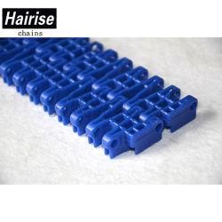 Hairise Blue PP Modular Raised Rid Conveyor Belt with Ce