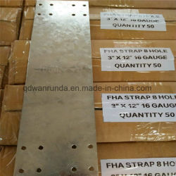 Cold Rolled and Galvanized Steel Fha Strap