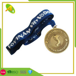 Customized Primary School Metal Gift Souvenir Medallion Craft (307)