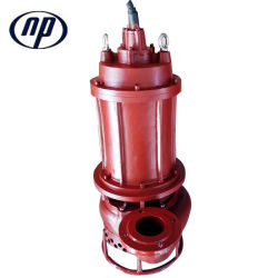 Vertical Heavy Duty Submersible Slurry Pump Manufacturers with Agitator