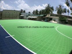 Safe Designed for Children Outdoor Playground Tennis Court Sports Flooring