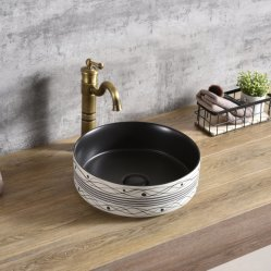 Sanitary Ware Newest Pattern Cabinet Basin of Different Design