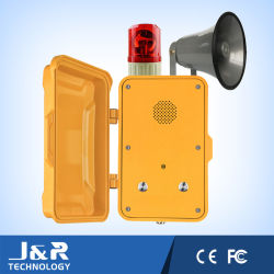 Emergency Speakerphone with Indicator Light and Sounder