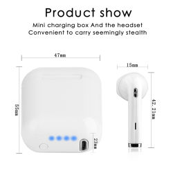 I8 Mini Tws Bluetooth Earphones Twins Headphone Air Pods Mini Sports Headset Buds Wireless Stereo Earphone