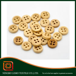 4 Holes Small Size Water Proof Wooden Button