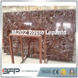 Natural Red Marble Slabs Stone of Building Materials