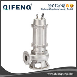 All Body Stainless Steel Non-Clog Submersible Sewage Pump