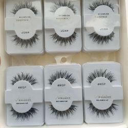 418297b97b6 5 Pairs Human Hair Natural False Eyelashes Eye Lashes Wholesale