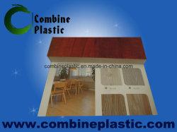 Wood Grain PVC Film Laminated Onto PVC Foam Board for Furniture