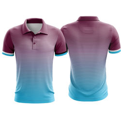 45d60c13 Wholesale Polyester Polo Shirt Customized Top Sale Sublimated Made Logo