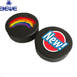 3559d0c5209 Custom Printing Official Size and Weight Rubber Black Hockey Puck