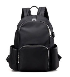 School Fashion Backpack Two Color Backpack Bag Sport Bag Leisure Bag Yf-Sbz2218