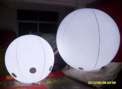 Advertising Inflatable Helium Balloon LED Light System