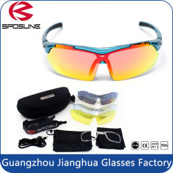 f4ba05b3d97 High End Polycarbonate Lens Filp up Sun Glasses with Myopia Frame Insert