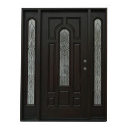 Iron Series FM 200I-Single Pre-Hung FRP Door-Mahogany  sc 1 st  Made-in-China.com & China Frp Doors Frp Doors Manufacturers Suppliers | Made-in-China.com