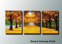 Landscape Foto Op Canvas Prints as Fine Wall Art Canvas for Living Room Decoration (Polyester/Cotton Canvas)