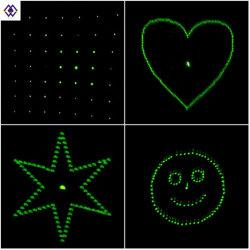 Wholesale Four Patterns for Light Optical Filter Plastic CO2 Laser Focus Grating Lens