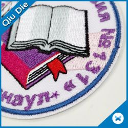 3D Embroidery Patch Sports Team Logo for Men's Clothing
