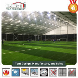 500-1000 Sqm Polygon Sports Tent Large Temporary Football Stadium Swimming Pool Cover