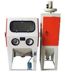 Electric Drive Box Type Sandblasting Machine / Sand Blower Supplier