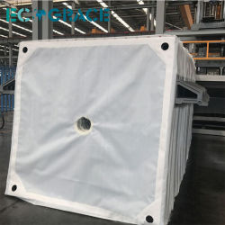 1-5 Micron Filter Cloth Nonwoven Felt Fabric Filter Press Cloth