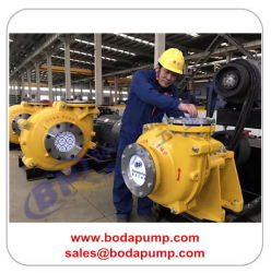 High Pressure Hydraulic Centrifugal Gold Mining Slurry Pumps