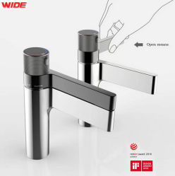 Wide Sanitary Ware If Reddot Award Winner Distributor Chrome Thermostatic Basin Faucet Bathroom Sink Tap