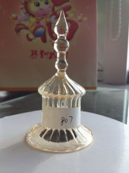 2015 Wholesale High Quality Glass Bell with Handing
