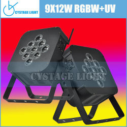 Rgbuv Wireless Flat PAR Lights