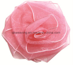 Boutique Organza DIY Rose Flower Ribbon Bow