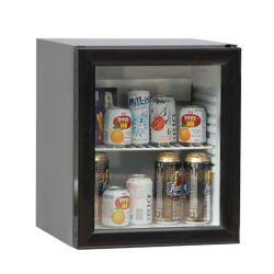 Absorption Mobile Home Fridge Freezer Counter Top Glass Door