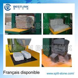 Hydraulic Stone Splitting /Cutting Machine for Curb/Kerb Stone