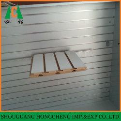 Melamine Faced PVC Faced Aluminum Decorative Slatwall Slot MDF