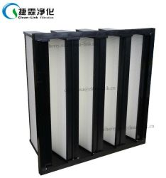 Comercial Price HEPA V Bank Combined Air Filter, Tank Filter